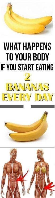 If You Eat 2 Bananas per Day for a Month, These 9 Things Happen To Your Body - Your Healthy Tips Healthy Beauty, Healthy Tips, Health And Beauty, Stay Healthy, Healthy Recipes, Healthy Women, Eating Healthy, Healthy Meals, Beauty Skin