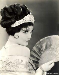 Dutch-born American actress Jetta Goudal.