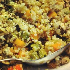 Jardineira de quinoa - gastronomia funcional