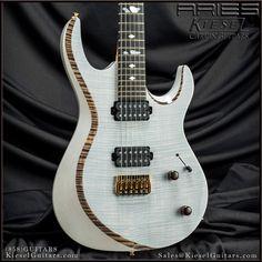 """Kiesel Guitars Carvin Guitars """"ARIES"""","""