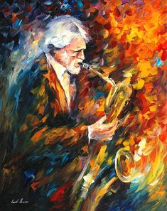 The official online art gallery of Leonid Afremov. Here you can buy original oil paintings directly from the world renown artist. Painting Corner, Jazz Art, Op Art, Oil Painting On Canvas, Online Art Gallery, Original Paintings, Artwork, Palette Knife, Gerry Mulligan