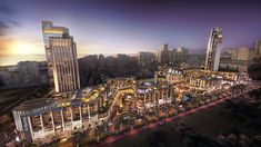 Al Mashtal on Behance Retail Architecture, Landscape Architecture, Architecture Design, Street Mall, Jobs Apps, Future City, Urban Landscape, Urban Design, Empire State Building