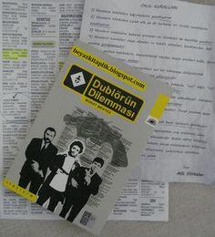 Dublörün Dilemması - Murat Menteş  http://beyazkitaplik.blogspot.com/2013/01/dublorun-dilemmasi-murat-mentes.html