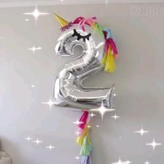 18th Birthday Party Themes, Birthday Balloon Decorations, Kids Party Themes, Unicorn Birthday Parties, Birthday Balloons, Unicorn Party, Birthday Party Decorations, Anniversaire My Little Pony, Balloons And More