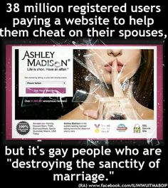 """Pastors and plenty other """"Christians"""" are using this site  -still ... let that sink in for a while."""