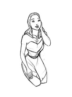 Pocahontas Disney Pocahontas, Disney Princesses, Disney Art, Animation Sketches, Art Sketches, Art Drawings, Disney Stuff, Disney Movies, Disney Concept Art