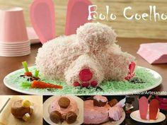 Bolo coelho - rabbit cake
