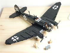 German HE 111 Bomber