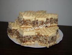 Prajitura NAȘA Nasa, Tiramisu, Food And Drink, Cookies, Ethnic Recipes, Desserts, Christmas, Pies, Sweets