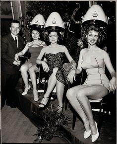 Wella creates Welonda Salon Equipment, 1954 #hair #vintage