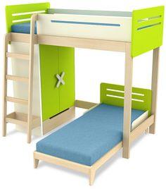 Łóżko piętrowe SIMPLE  http://meblefann.pl/product-pol-324-Lozko-pietrowe-SIMPLE.html