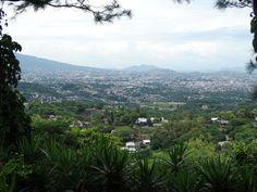 View from Planes de Renderos, Restaurant Casa de Piedra