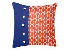 This Custom Collegiate-Inspired Duvet Throw Pillow is perfect for dressing up your collegiate decor!