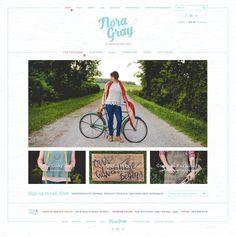 Noray Gray website design
