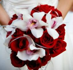 Image detail for -red and white wedding bouquets Dark Red Wedding Bouquets Red And White Wedding Themes, Dark Red Wedding, White Wedding Decorations, Pink Wedding Theme, Wedding Ideas, Trendy Wedding, Wedding Colors, Dream Wedding, Wedding Centerpieces