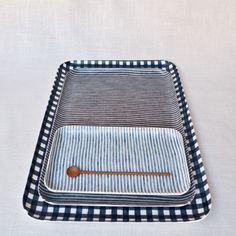 Fog Linen Resin Tray