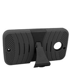 Motorola Moto X 2014 Black + Black Robotic Case