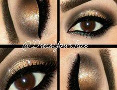 20 φοβεροί οδηγοί μακιγιάζ για καστανά μάτια Kiss Makeup, Glam Makeup, Beauty Makeup, Hair Makeup, Wedding Makeup For Brown Eyes, Eyeshadow For Brown Eyes, Wedding Nails Design, Gorgeous Makeup, Awesome Makeup