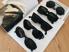 BLACK SUNGLASSES COLLECTION