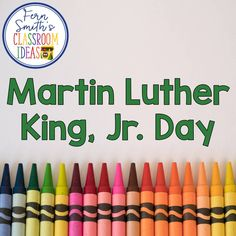 39 Best Martin Luther King Jr Day Images In 2019 Elementary