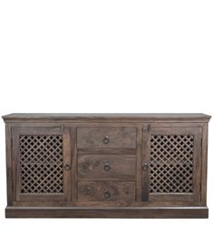 Credenza Teak Provinciale Legno massello di sheesham CS-183378 X 160 X 45 CM | Arts of India – Italy