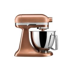 Williams-Sonoma KitchenAid Artisan Mini Stand Mixer with Flex Edge... ($600) ❤ liked on Polyvore featuring home, kitchen & dining, small appliances, kitchenaid tilt head stand mixer, kitchenaid mini mixer, tilt head stand mixer, kitchenaid standing mixer and kitchenaid tilt head mixer