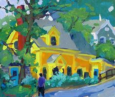 Charles Sovek - The Yellow House, Provincetown