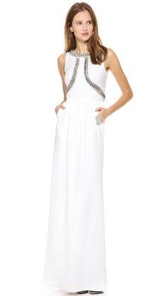 Long Goldina Dress