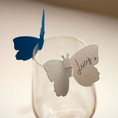 place cards or whimsical guests