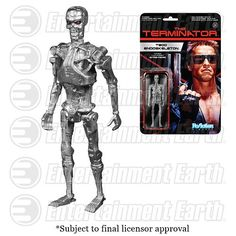 Terminator T-800 Endoskeleton ReAction Action Figure