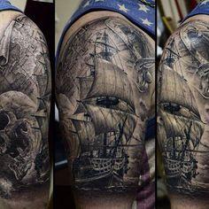 ship tattoo                                                                                                                                                      More
