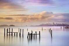 Sausalito Morning #2 - Marin County California    It was a misty and foggy morning on San Francisco Bay.