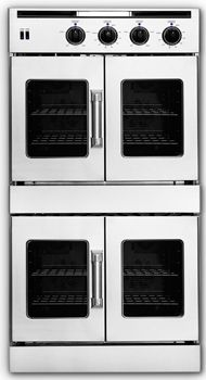 american range double frenchdoor wall oven AR0FFE230. (No having to reach OVER the regular type of door)