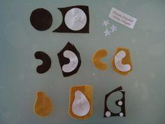 biscotti di feltro - tutorial 2