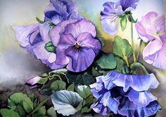Watercolor   Stephanie Zobrist  40x30cm sold