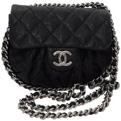 4844fab10794 View this item and discover similar crossbody bags and messenger bags for  sale at - This is an authentic CHANEL Washed Lambskin Quilted small Chain  Around ...