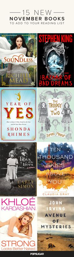 15 amazing new reads you shouldn't miss!