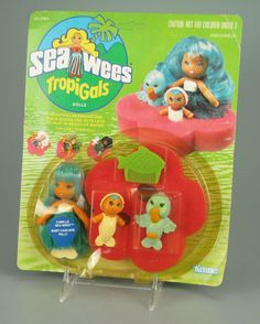 Sea Wees !! - almost forgot all about these, but this was another one I had a bunch of sets of