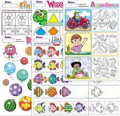 Free printable worksheets. TeachersMag.com Animal Worksheets, Free Printable Worksheets, Kindergarten Worksheets, Worksheets For Kids, Sorting Activities, Preschool Themes, Preschool Lessons, Learning Activities, Pattern Worksheet