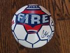 For Sale - Chicago Fire Soccer Ball/Mini Ball Signed by CJ Brown and Jim Curtin  - See More At  http://sprtz.us/ChicagoFire