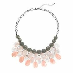 Apt. 9 Bead Bib Statement Necklace #Kohls