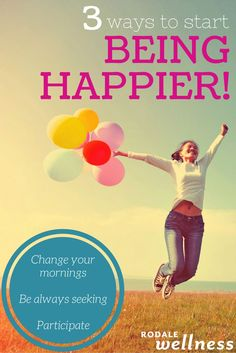 The first step is discovering what happiness really is.   RodaleWellness.com