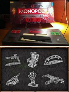 Monopoly Star Trek Klingon Edition