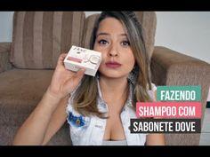 DIY | Shampoo de sabonete Dove para low poo - YouTube
