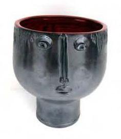 Glazed earthenware vessel, 1960s. Robert and John Cloutier.