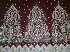 Kundan and Zardozi embroidery Zardozi Embroidery, Pearls, Gold, Jewelry, Jewlery, Jewerly, Beads, Schmuck, Jewels