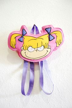 90s PVC Angelica Rugrats Mini Backpack