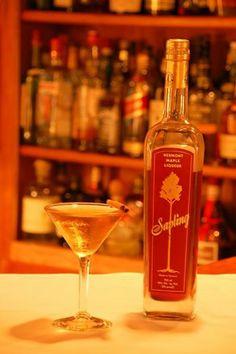 Our delicious Maple Martini!