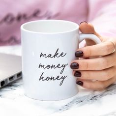 Make Money Honey Mug • Catching Dreams Shop Best Friend Gifts, Gifts For Friends, Ceramic Pottery, Girl Gifts, How To Make Money, Honey, Ceramics, Dreams, Mugs