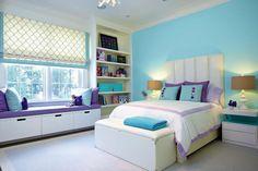 En los cuartos, camas con cabecera alta y baúles a los pies (todo de Rachel Laxer) y mesas de luz a tono (Pacific Connections)..  Foto:Living /Rachel Laxer Interiors